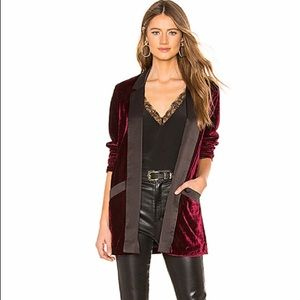 BB Dakota Jackets & Coats - BB Dakota • Midnight in Paris Smoking Jacket
